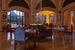 Indoor Indian restaurant of Moghul Room