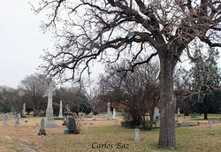 Pioneers Rest cementery at the afternoon