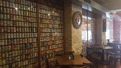 Look at those beer cans!