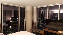 Great location, nice corner room upgrade for Marriott Platinum