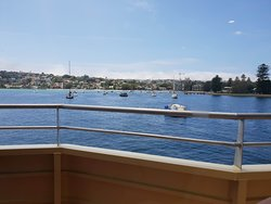 The view of Rose Bay from the Sydney Ferry
