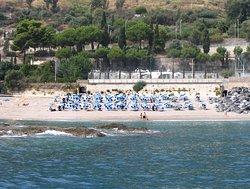 """Spiaggia privata """"Ipanema Beach Club"""" aperto da Maggio a Settembre"""