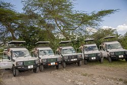 Our per vehicles are always ready for safaris