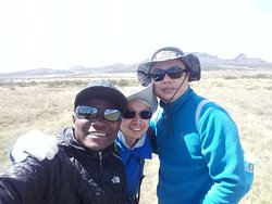 Shira plateau on mount Kilimanjaro (come one come all)