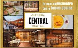 San Vicente Central Cocina + Cafe. Tu Lugar de Encuentro con la Buena Cocina
