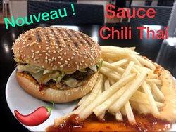 Large choix de sauce Nawhal's également disponible