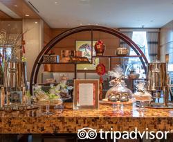 Lobby at the Mandarin Oriental, Boston