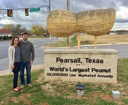 """The famous Pearsall, Texas """"World's Largest Peanut"""" is just east of the Baymont Wyndham Hotel.  It can be seen from the hotel and is a picture you won't want to miss!"""