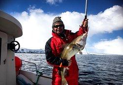 Deep Sea fishing south of Kiberg