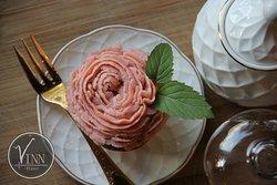 Muffin de Rosas