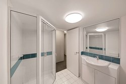 adina serviced apartments canberra james court two bedroom apartment main bathroom