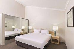 medina serviced apartments north ryde second bedroom king