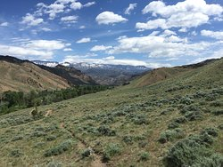 Views from a four hour trail; Elk's Fork