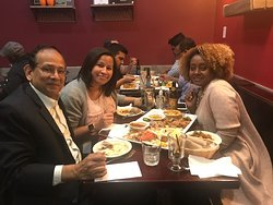 Ethiopian Dinner with friends