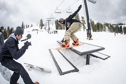 Photos (and sometimes video) are an integral part of our camps and tours. Woodward Tahoe weekend camp. April 2018.