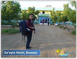 Chinese tourist at Ga'ayte hotel, Bosasso