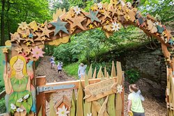 Find the code to unlock the magical gate that leads to the fairy village of Two Stone Wishes. This is part of the Studfold Adventure Trail, there is a discounted entrance fee for those staying at Studfold.
