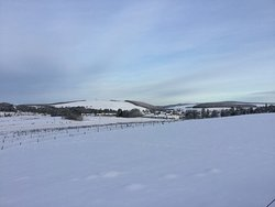 Tomintoul in the snow!