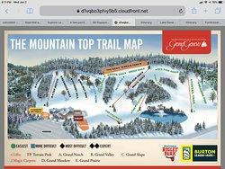 Helpful trail map