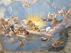 One of the largest ceiling frescoes in the world