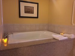 Spa area in the King Spa Suite