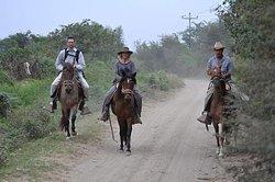 Rancho Santana horseback riding Peru