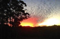 Sunset over Mt Warning