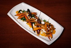 Warm Spiced Roasted Heirloom Carrot Salad