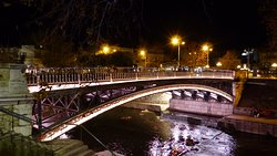 η γέφυρα το βράδυ
