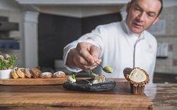 Speisenbeispiel und Excecutive chef de cuisine