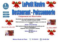 Le Petit Navire Restaurant Poissonnerie