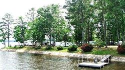 campground on lake