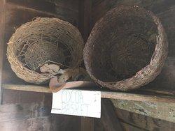 Dougaldston Estate cocoa baskets