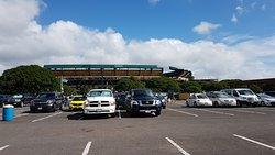 Stadium car park