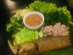 Fish Food at Lotus House Restaurant