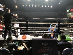 Awesome Thai Boxing Let down by an uncomfortable seat...