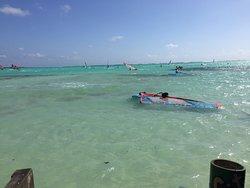 Posto bellissimo e paradiso per il surf