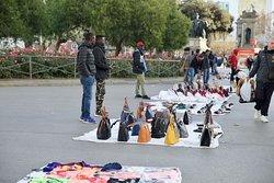 Fake goods sellers