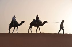 desert tours in merzouga