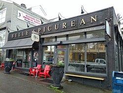 The outside of Belle Epicurean Bakery - Seattle (17/Jan/19).