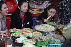 Enjoyment of Vietnamese food