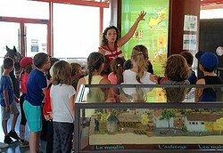 """Visite guidée de l'exposition """"Canal du Midi"""" pour un groupe scolaire (sur réservation)"""