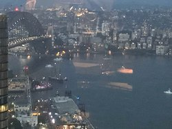 Sydney Harbour from O Bar