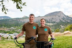 Rent a a bike from Mike and Claire, the owner's of Roll door-to-door electric bike rental.