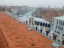 View of Rialto from T Fondaco roof