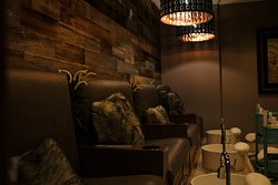 Relaxing Pedicure room.