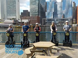 Riding a #cruise #ship into #Boston this year? Find us near #FaneuilHall to #cruise the #city with your #friends and #family 😎 #Segway #tours show you so much, in so little time! 😃 www.bostonsegwaytours.net