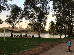 Great park along the Murray