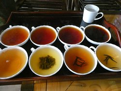 Tea Tasting at the factory