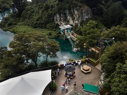 The Taupo Bungy & Cliffhanger site